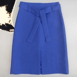 J Crew Collection A Line Midi Skirt Italian Wool